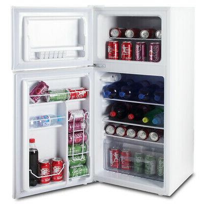 Office Refrigerator Dorm Home White