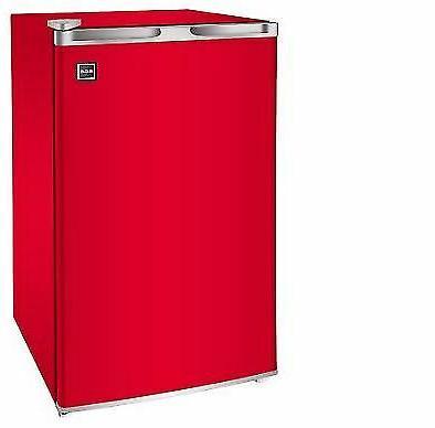 one door red mini fridge 3 2