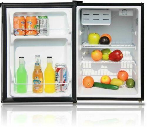 One Mini Refrigerator Manual Defrost