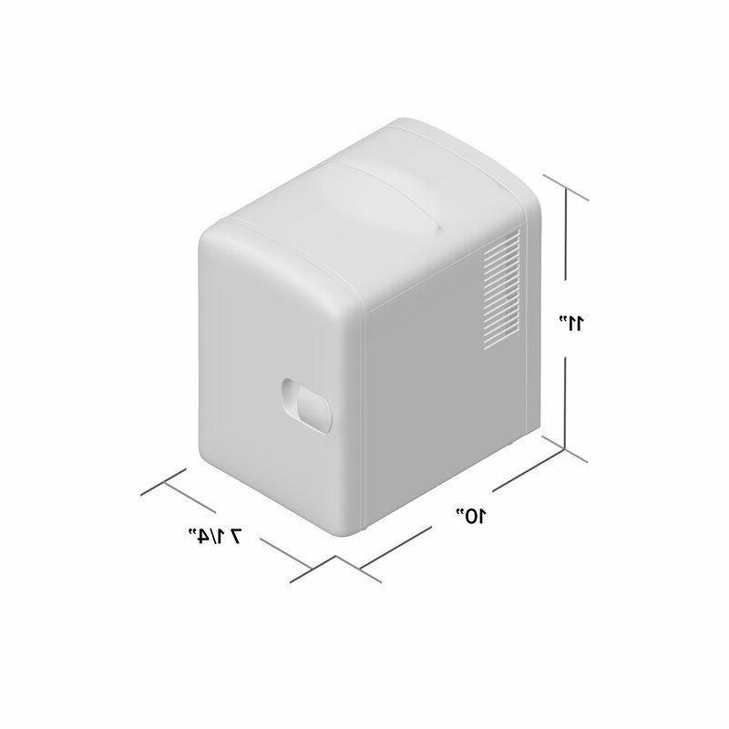 Countertop Mini Fridge Desk Tabletop Small Electric Refrigerator
