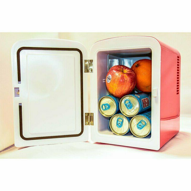 Countertop Fridge Desk Tabletop Electric Refrigerator