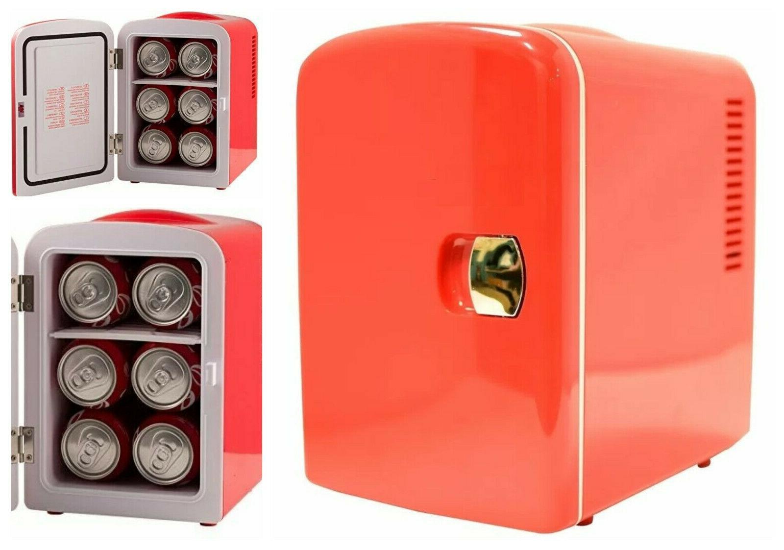 portable desk tabletop cooler small electric refrigerator