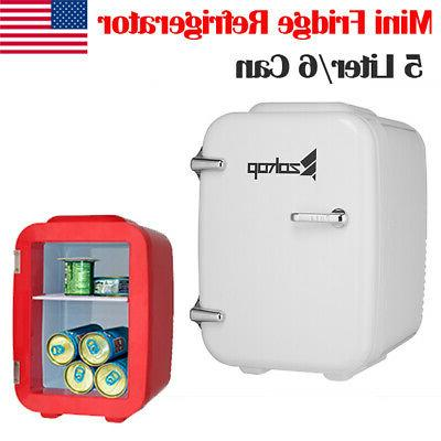 portable personal mini fridge refrigerator compact cooler