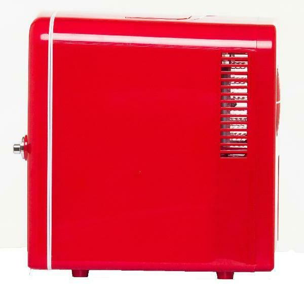 Portable Compact Refrigerator - Red Color