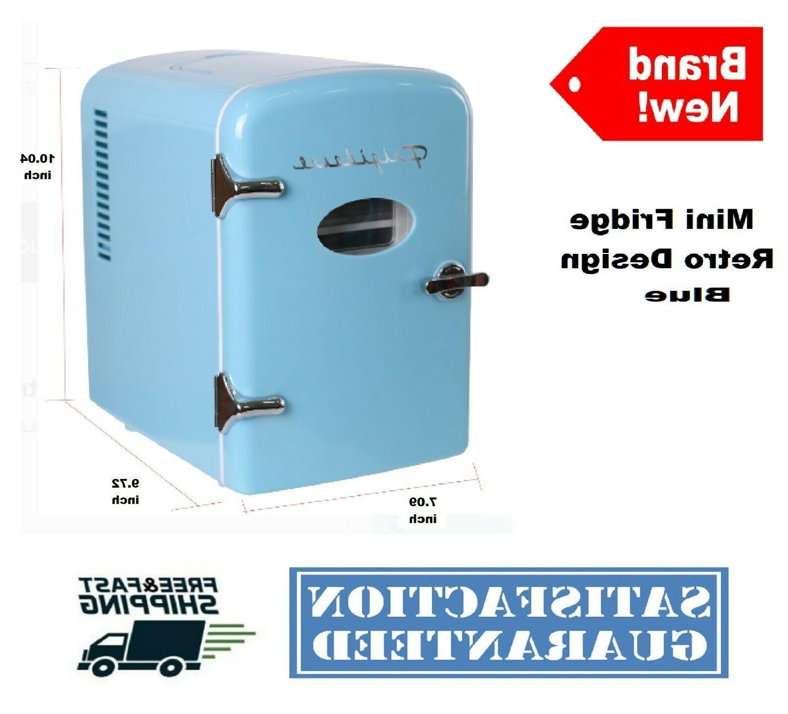 Portable Retro Fridge Cooler