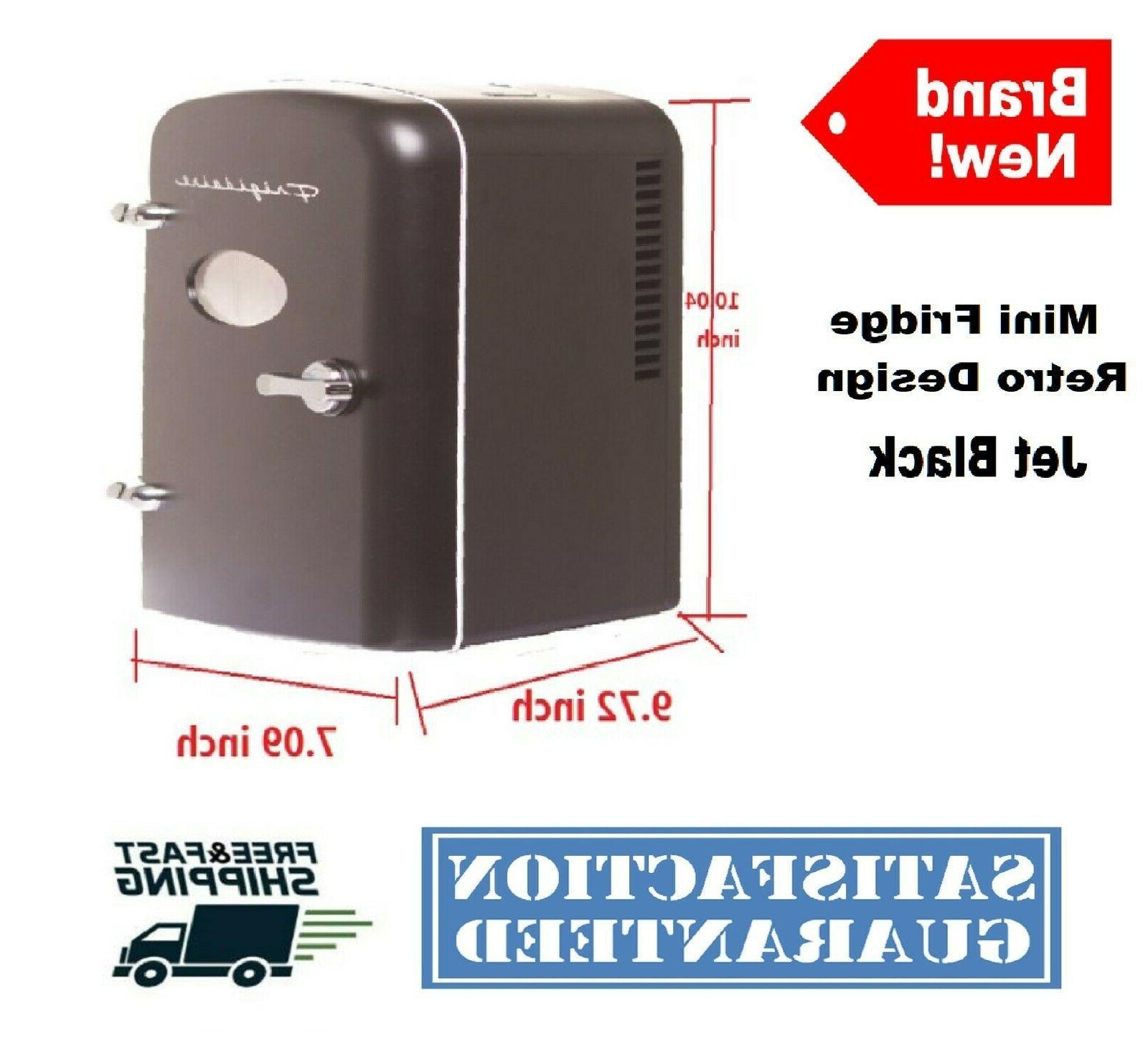 Portable Design Mini Fridge 6-Can Compact Cooler