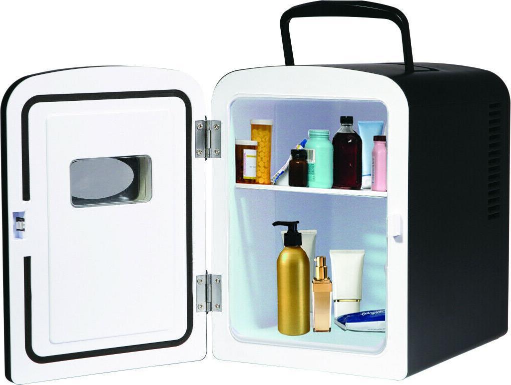 Portable Design Mini Fridge Cooler Shelves