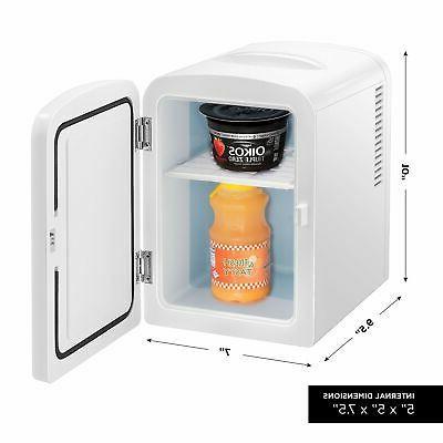 Refrigerator Cooler & Warmer Dorm Travel