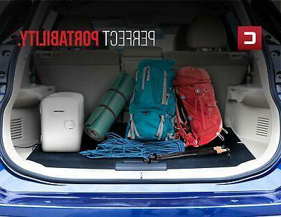 Portable Refrigerator Cooler Warmer Dorm Bedroom Travel