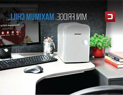 Portable Compact Fridge Refrigerator Cooler Dorm Bedroom Travel