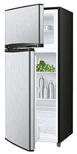 Avanti RA45B3S 4.5 Cu. Ft. Two Door Deluxe Refridgerator wit