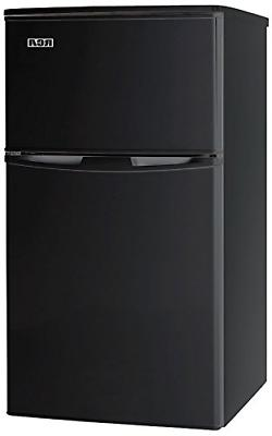 RCA-Igloo 3.2 Cubc Foot 2 Door Fridge and Freezer, Black