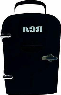 Igloo Mini Beverage Refrigerator - Black - 6 Cans - Brand NE