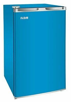 RCA Mini Refrigerator, 3.2 Cu Ft Blue