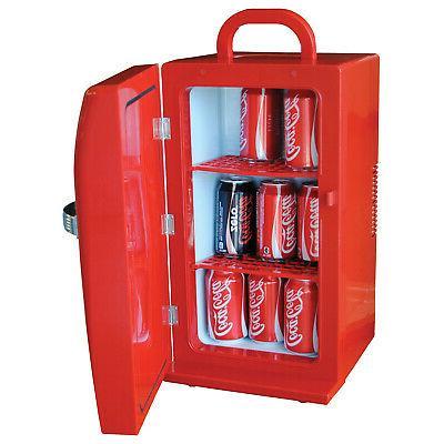 Koolatron Coca Cola Beverage Red