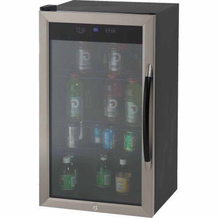 showcase beverage cooler