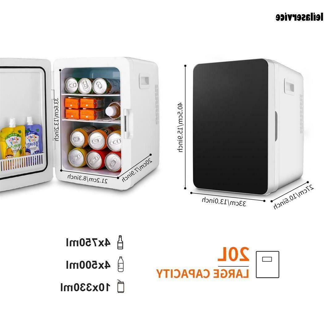 2.5 CuFt Retro LED white Mini  small Refrigerator Fridge Com