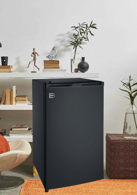 Single Door Mini Fridge 3.2 Ft Refrigerators with Black New