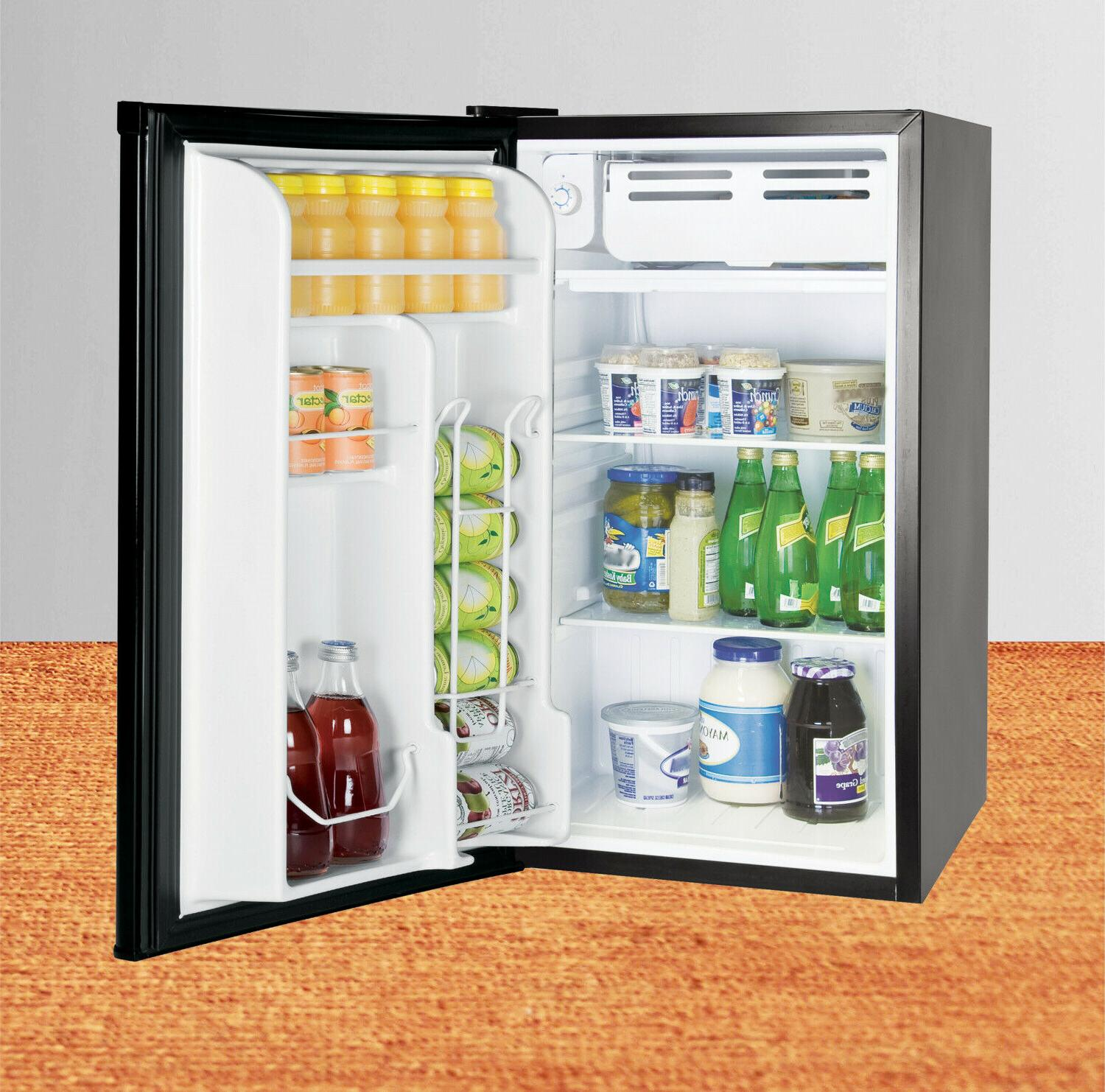 Single 3.2 Cu Ft Compact Refrigerators with New