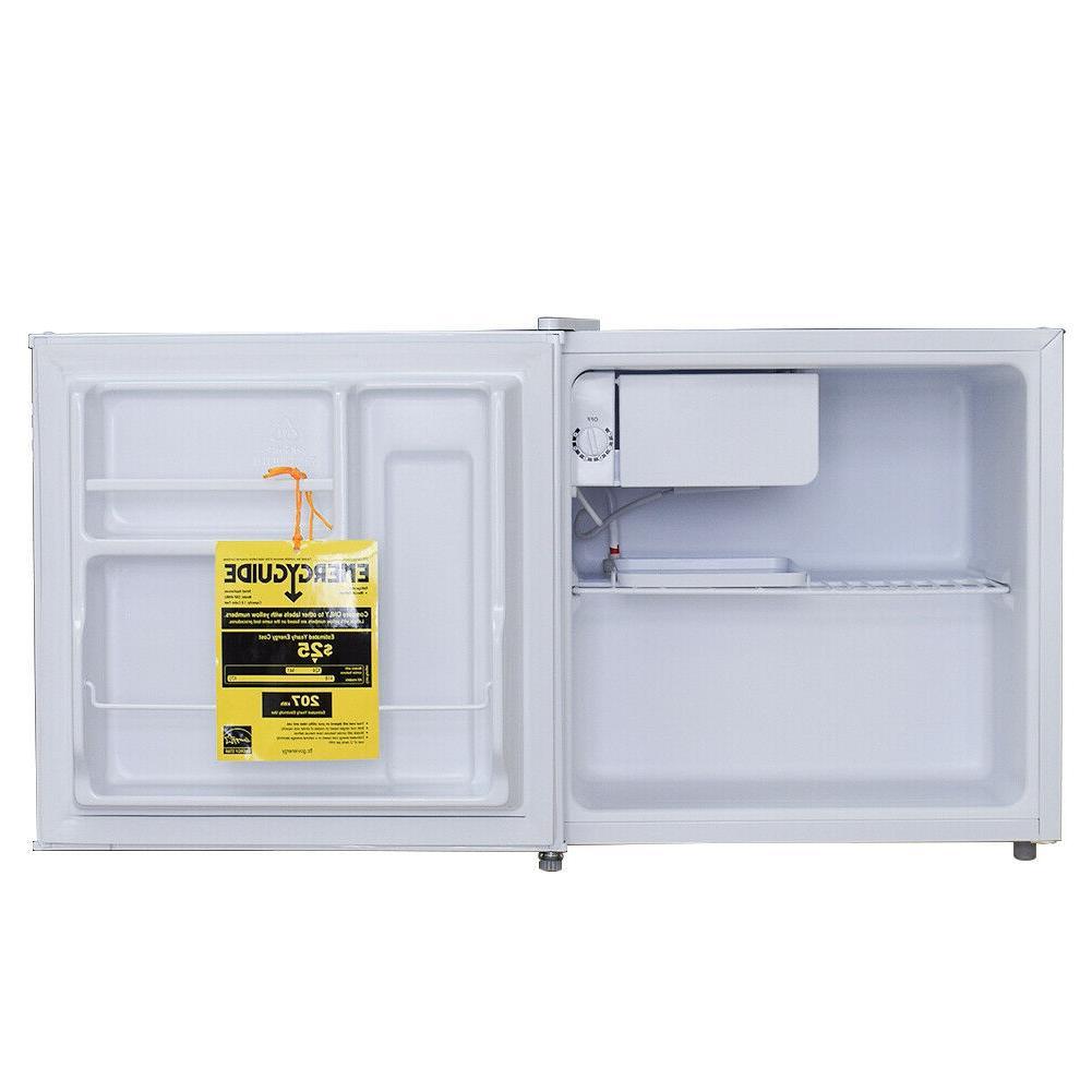Smad 1.7 Cu Mini Door Compact White Refrigerator