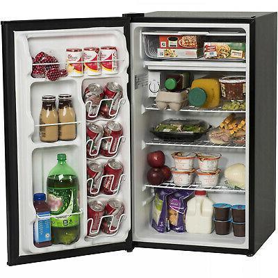 Arctic King 3.3 Cu Ft One-Door Compact Refrigerator, Black