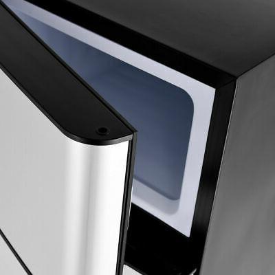 Stainless Freezer Fridge Compact 3.2 cu