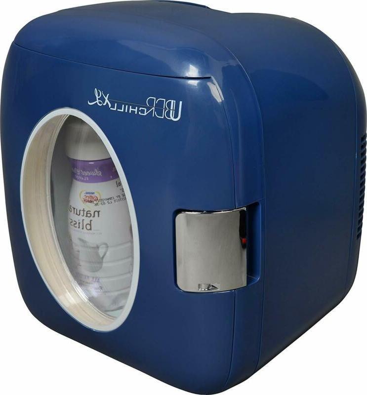 ub xl1 blue mini fridge 9l navy
