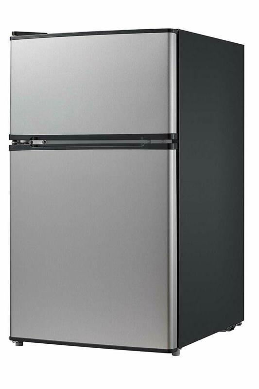 whd 113fss1 double door mini fridge