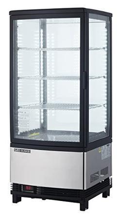 Maxx Cold MECR-32D 3 cu. ft. Pass Through 2 Door LED Lighted