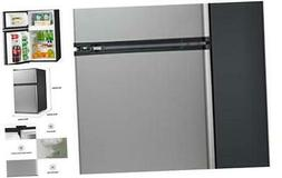 Midea 3.1 Cu. Ft. Compact Refrigerator, WHD-113FSS1 Stainles