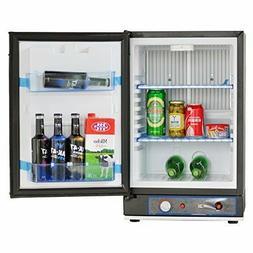 SMETA Mini 12V/110V/Gas Refrigerator - DC/AC/Propane RV Frid