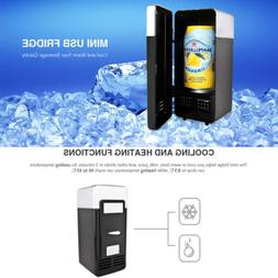 Mini 780ml USB-powered Table Fridge Beverage Drink Can Coole
