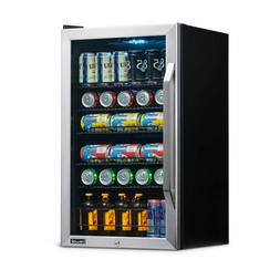 MINI BEVERAGE FRIDGE 3.4 Cu Ft Single Door Refrigerator Stai