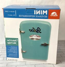 Igloo Mini Beverage Refrigerator - Retro 6 Can Mini Fridge B