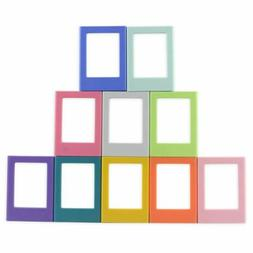 mini colorful magnetic fridge magnet picture frame