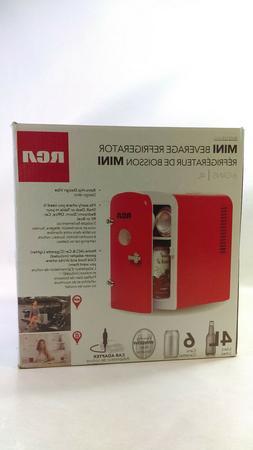 RCA Mini Compact Refrigerator - Red RMIS129,
