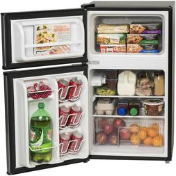 Mini Freezer Refrigerator 3.2-cu ft 2 Door Energy Star Home
