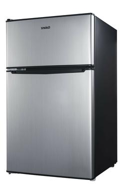 Mini Fridge 2-Door 3.1 Cu Ft Home Kitchen Frozen Food Drink