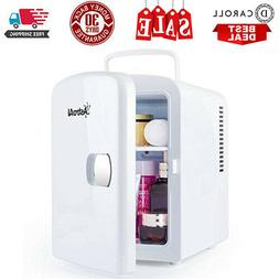 Mini Fridge 4 Liter/6 Can AC/DC Portable Thermoelectric Cool