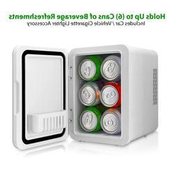 Nutrichef  Mini Fridge Cooler/Warmer 4L PKTCEC4BL Portable