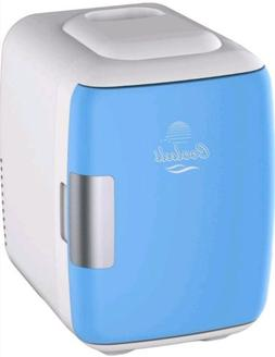 Cooluli Mini Fridge Electric Cooler and Warmer 4 Liter/6 Can