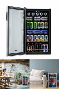 Mini Fridge Glass Door Outdoor Beverage Chiller Best Rated R