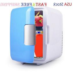 Mini Fridge Portable 12V 4 Liters Mini Refrigerator Cooler a