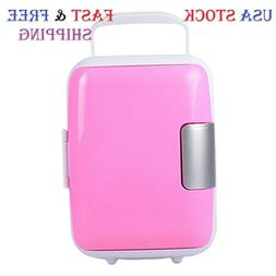 Mini Fridge Portable 12V 4 Liters Mini Refrigerator Cooler a