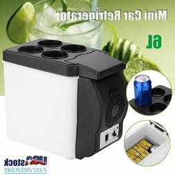 Mini Fridge Portable 12V 6 Liters Mini Refrigerator Cooler a