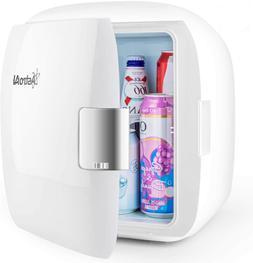 Mini Fridge Refrigerator 9 Liter/12 Can Cooler and Warmer Po