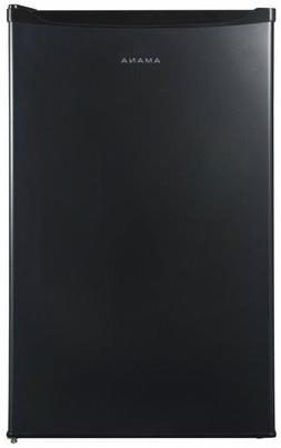 Mini Fridge Single Door Only in Black 4.3 cu. ft. Home Appli