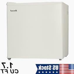 Mini Fridge Small Refrigerator Freezer 1.7 CU FT Single Door