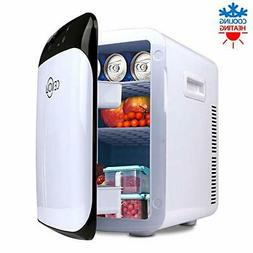 Mini Fridge with Cooler and Warmer with LED Display/Dual-Cor