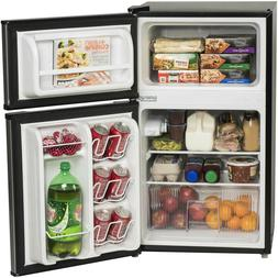 Refrigerator Mini Freezer 3.2-cu ft 2 Door Energy Star Home